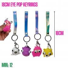 TO-EYEPOP - 18CM Eye Pop Keyrings